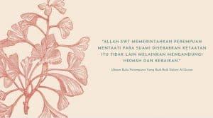 Ulasan Buku : Perempuan Yang Baik-Baik Dalam Al-Quran