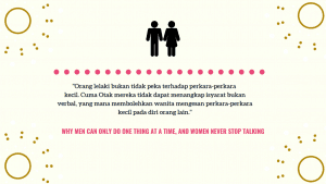 Ulasan Buku : Why Men Can Only Do One The At A Time And Women Never Stop Talking